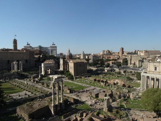 Dealul Palatin Forumul Roman