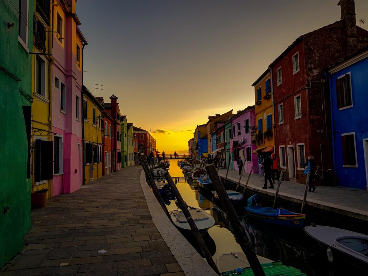 Burano Venetia Italia
