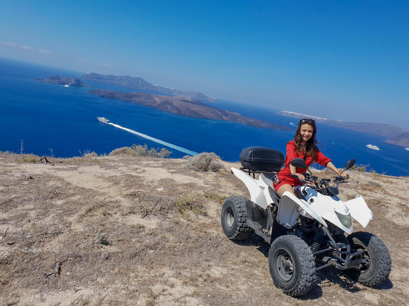 Santorini ATV Mare