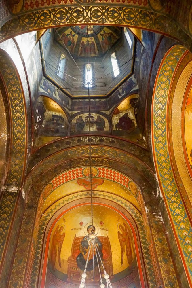 Biserica Interior Curtea Arges