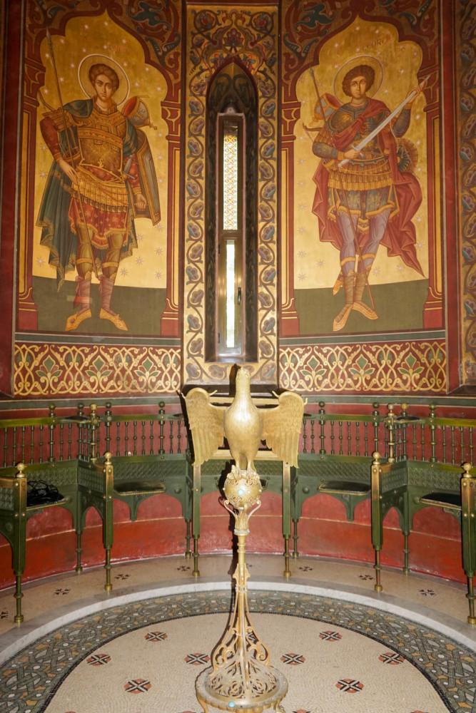 Interior Manastirea Curtea Arges