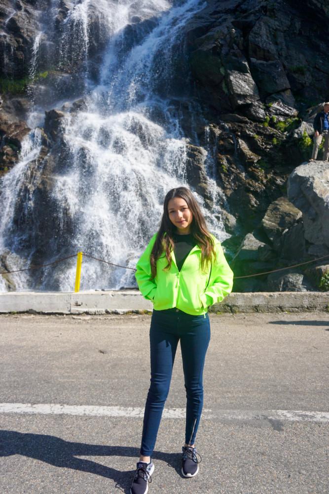 Cascada Capra Poze