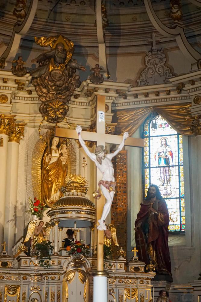 Interior Catedrala Franciscana