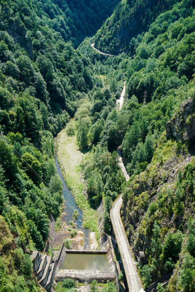 Vidraru Baraj Romania