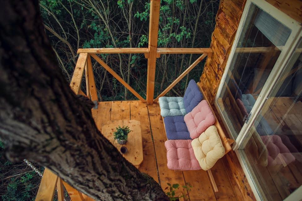 Transylvania Log Cabin Balcon