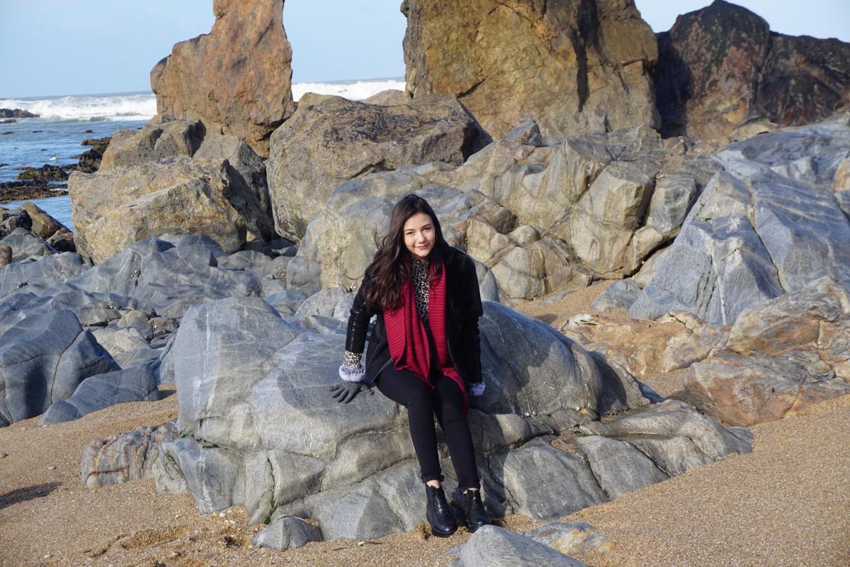 Plaja Stanci Oceanul Atlantic Porto