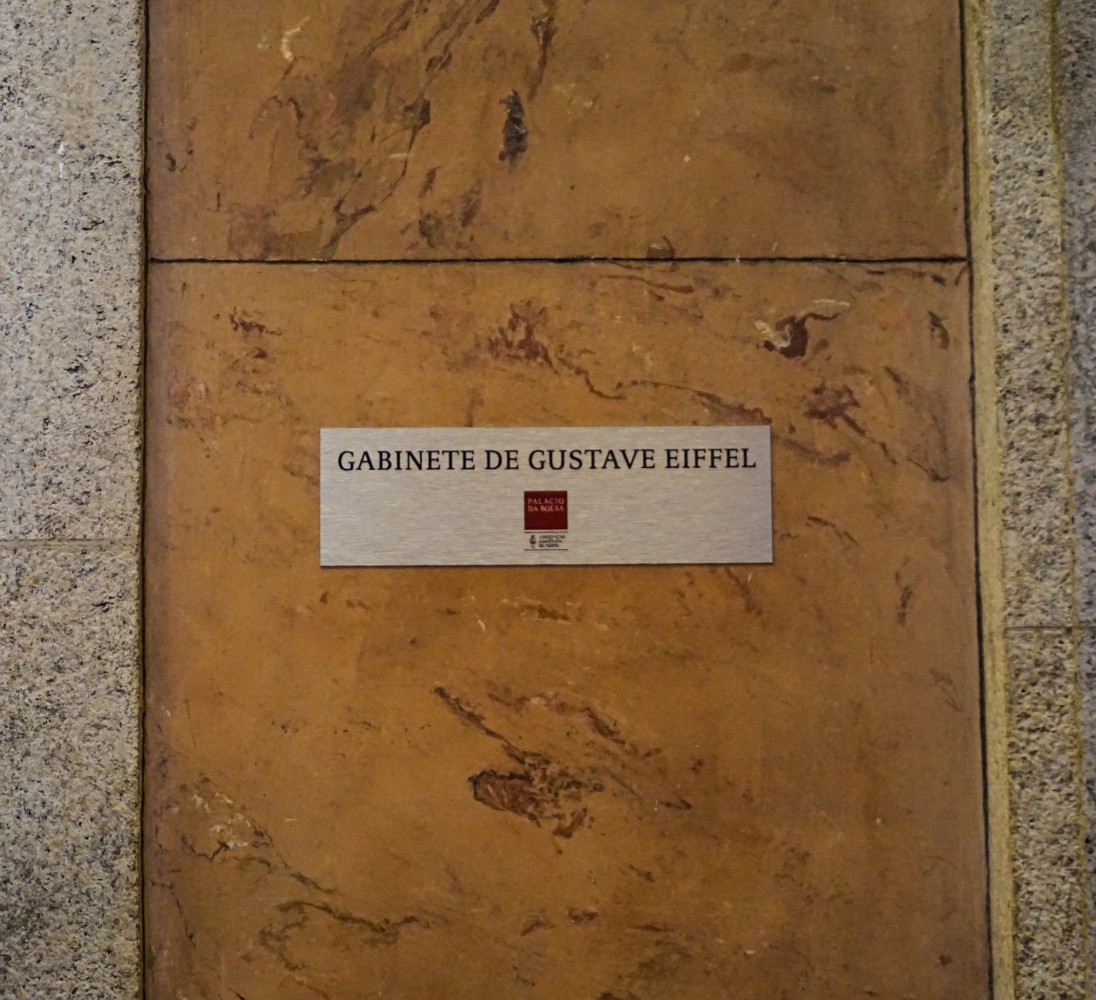 Gustave Eiffel Palacio da Bolsa