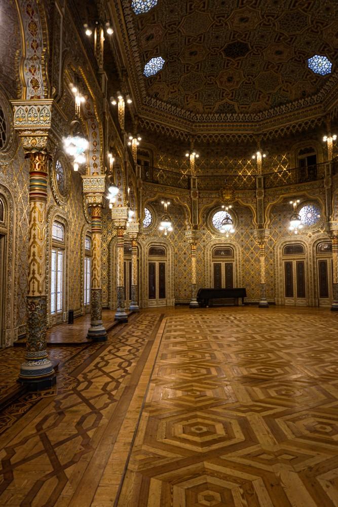 Palatul Bursei Salonul Arab