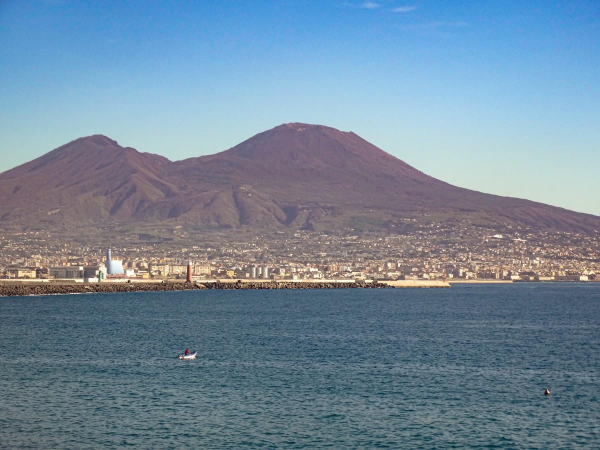 Muntele Vezuviu Vulcani