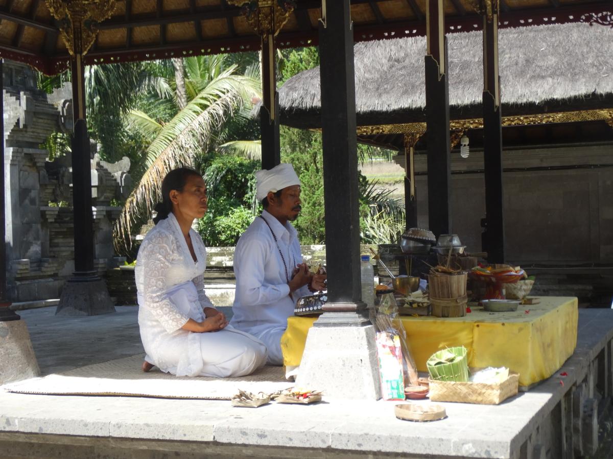 Ceremonie Bali Templu