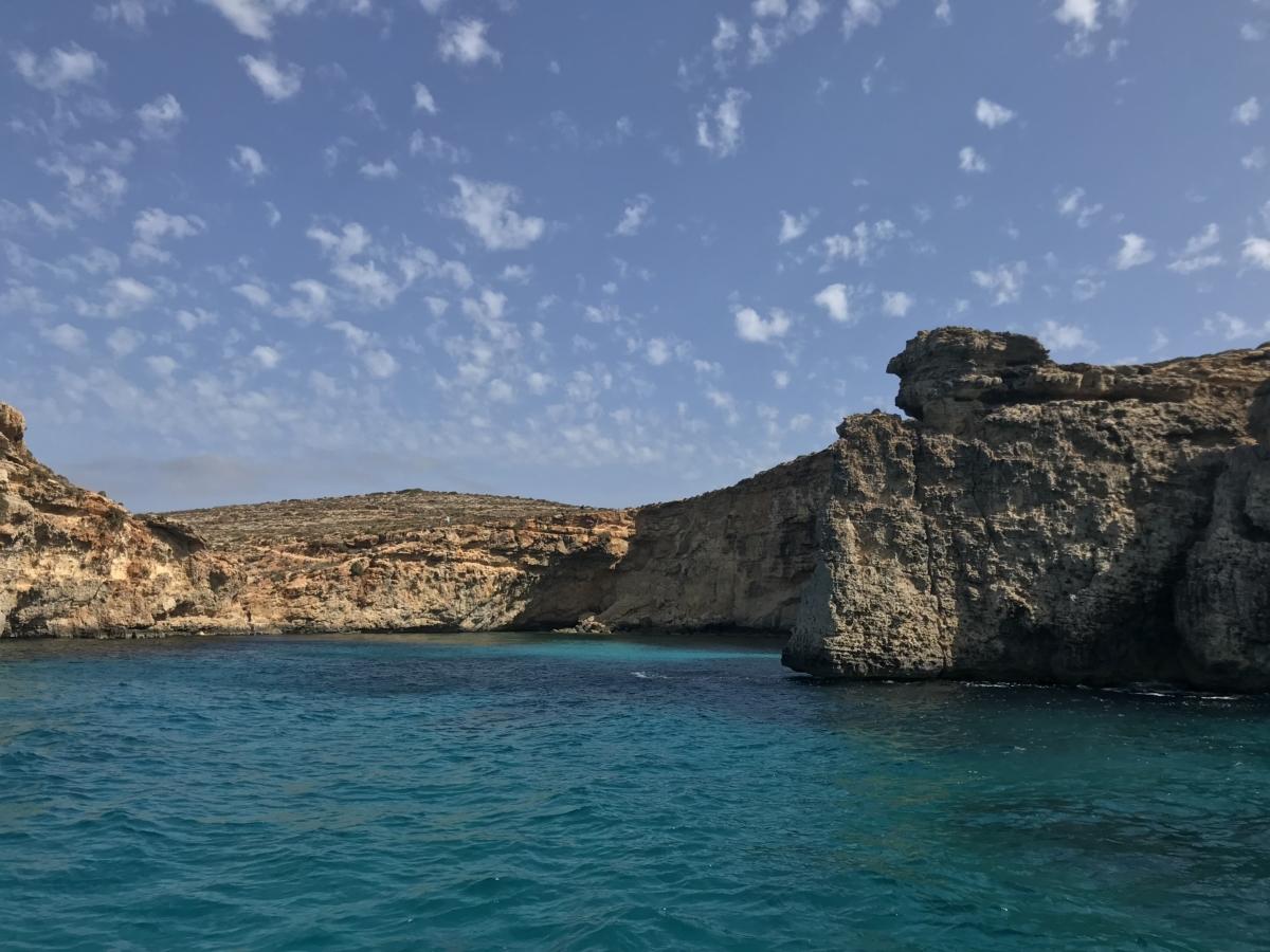 Feribot Comino Malta Laguna