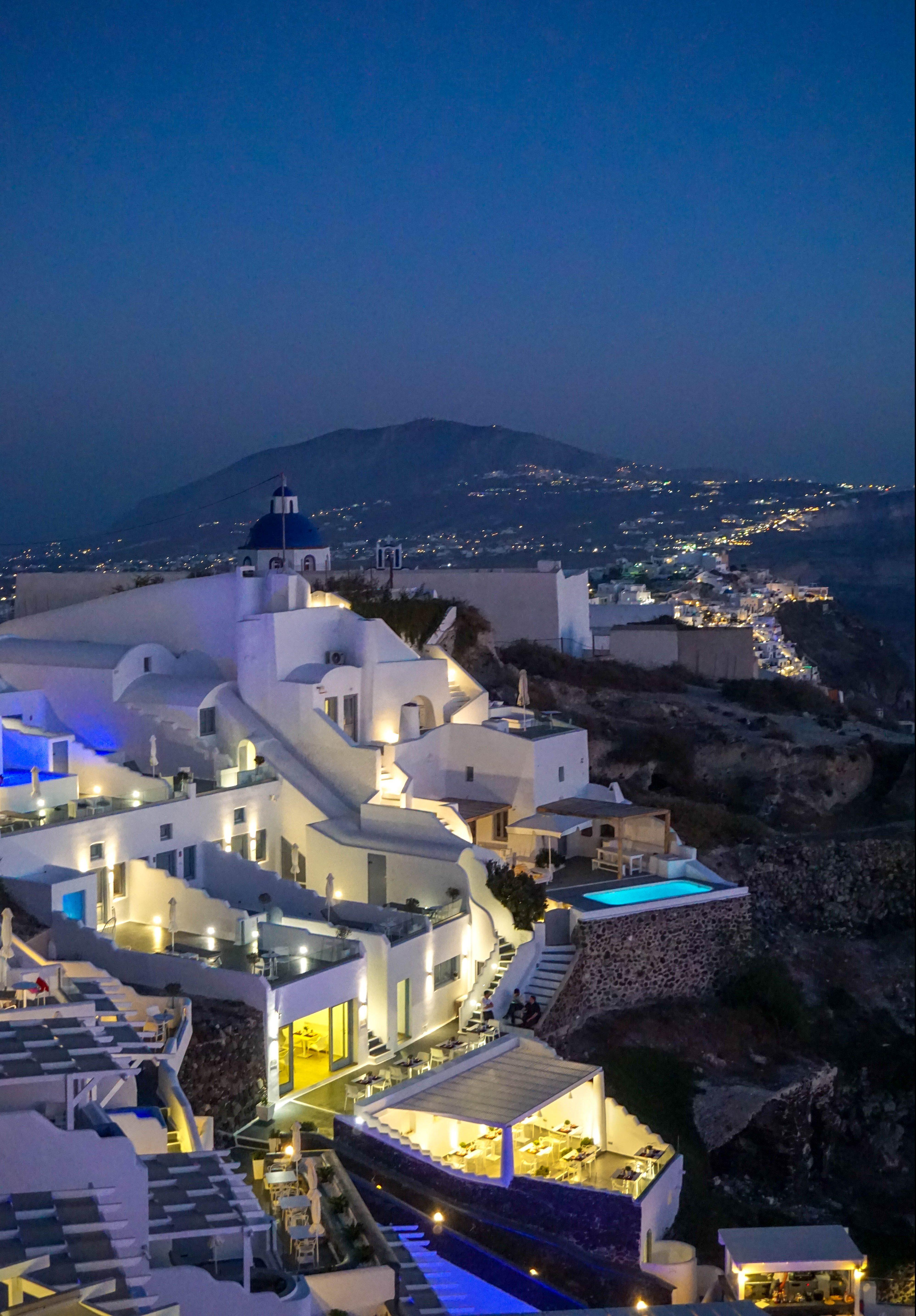Imerovigli Noapte Santorini