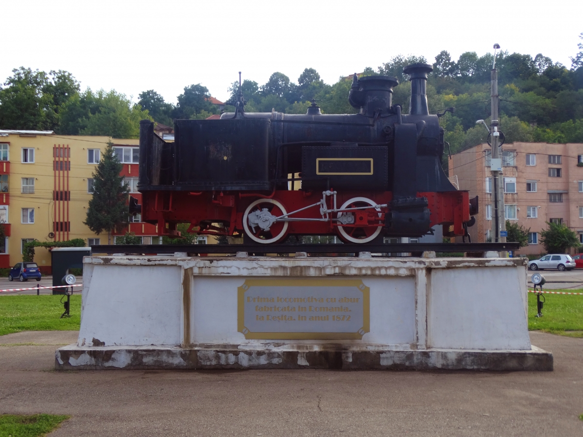 Locomotive Abur Resita Muzeu