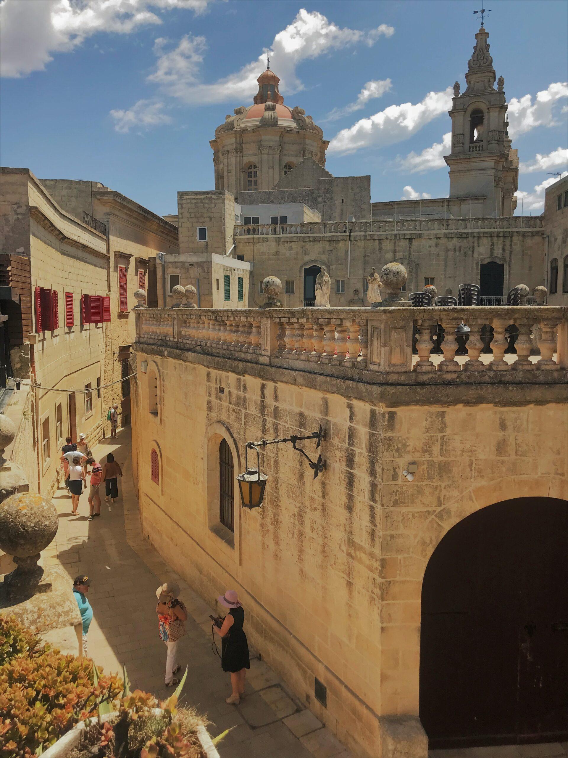 Malta Mdina Ghid