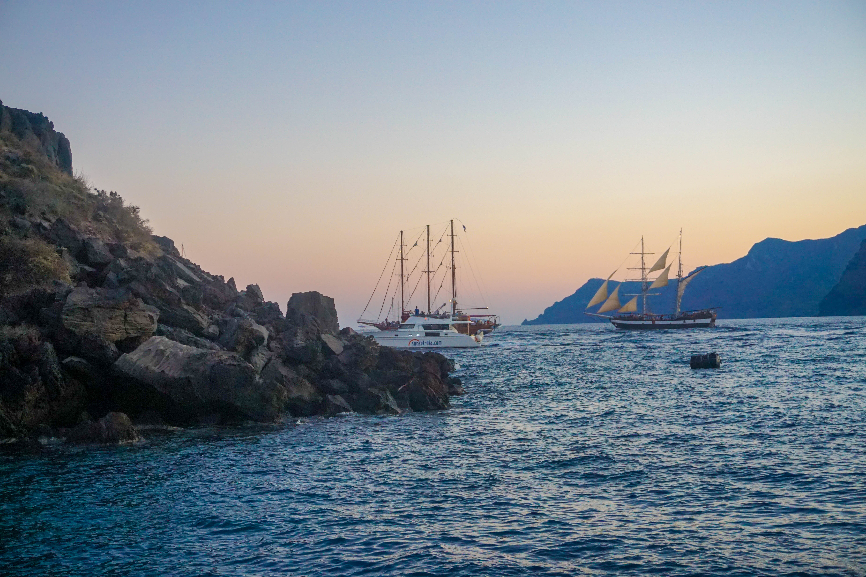 Oia Santorini Vacanta Apus