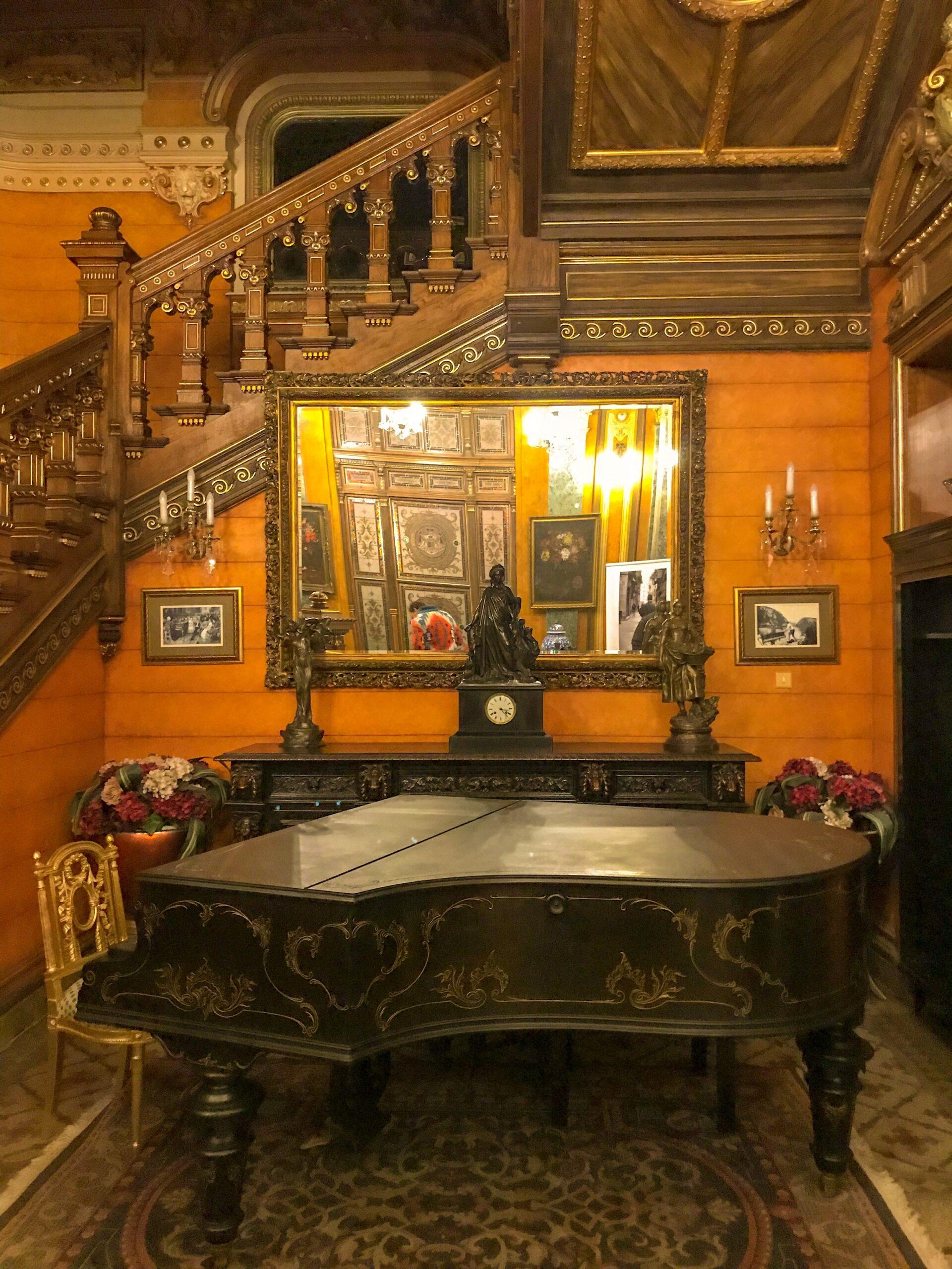 Pian Palatul Ghica Victoriei