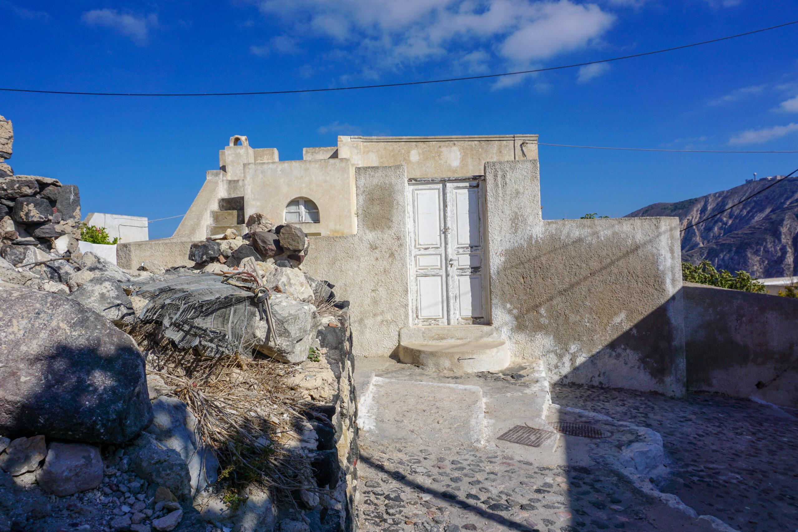 Pyrgos Santorini Ghid