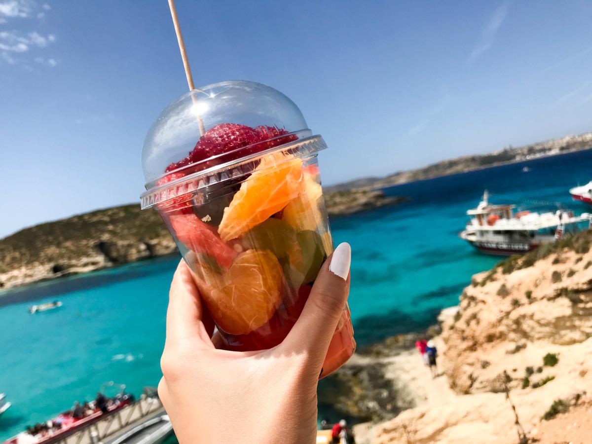 Fructe Blue Lagoon