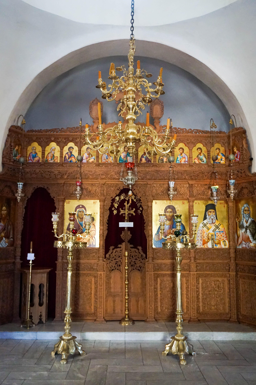 Manastirea Profetul Ilie Santorini