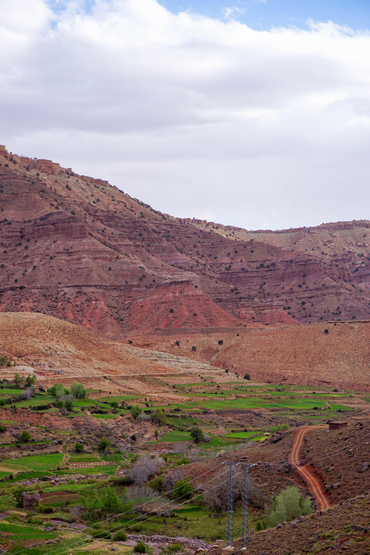 Muntii Atlas Maroc