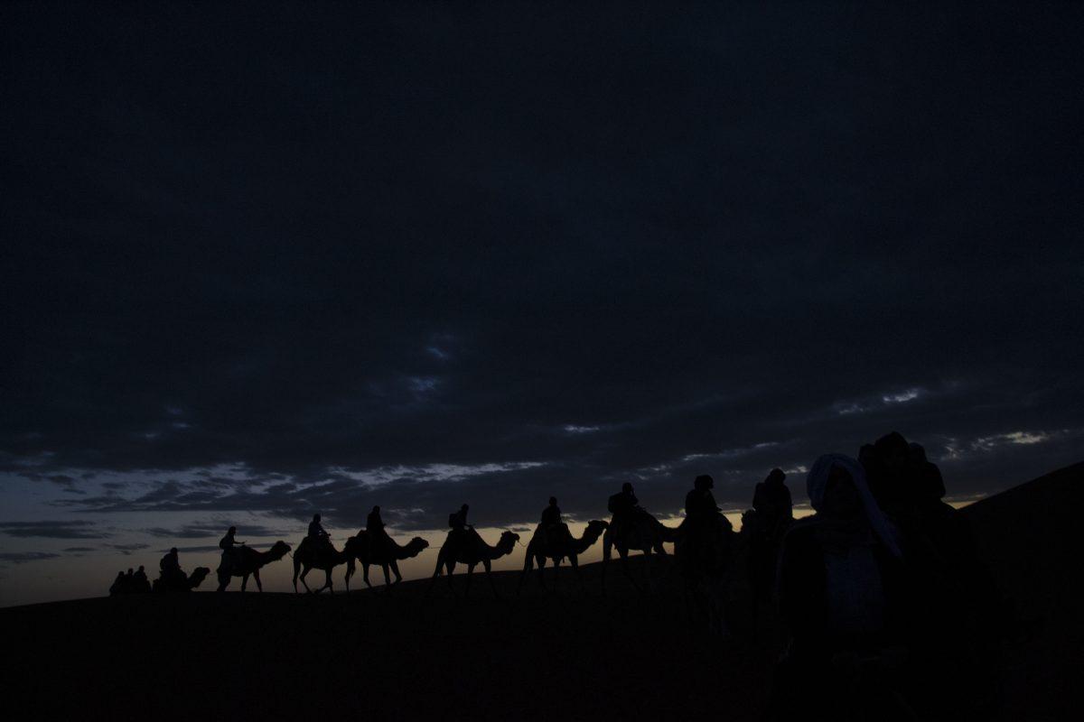 Noapte Desert Sahara Vest