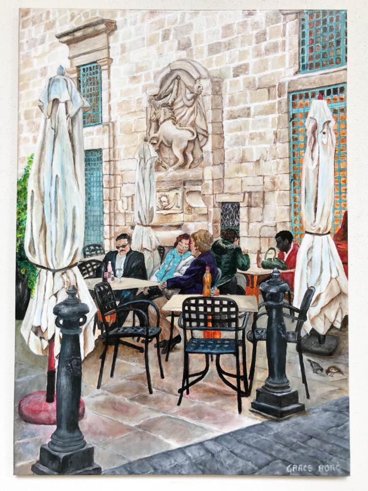 Pictura Valletta Expozitie