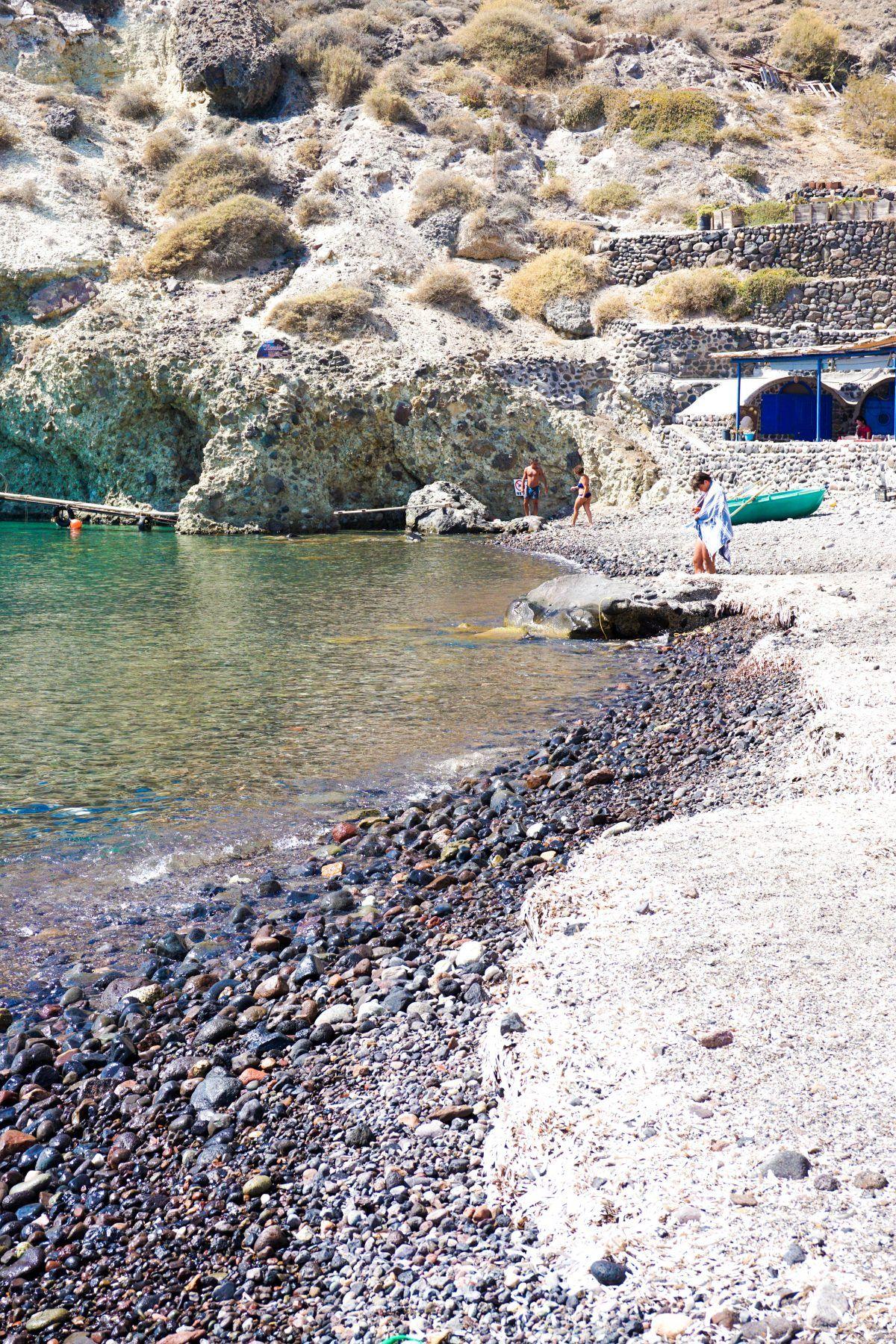 Plaja Alba Santorini