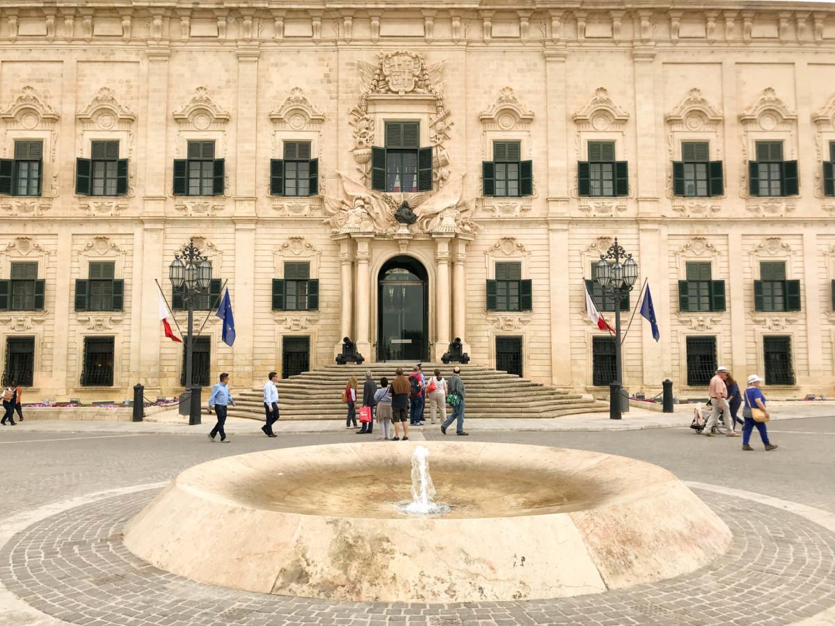 Valletta Cladiri Malta