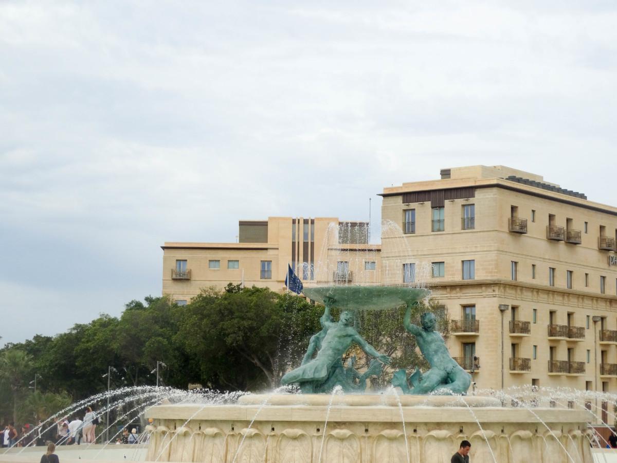 Valletta Malta Statuie